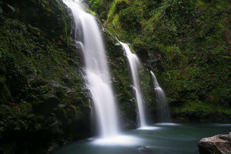 Best waterfalls road to Hana