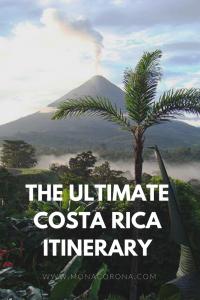 The UltimateCosta RicaiTINERARY