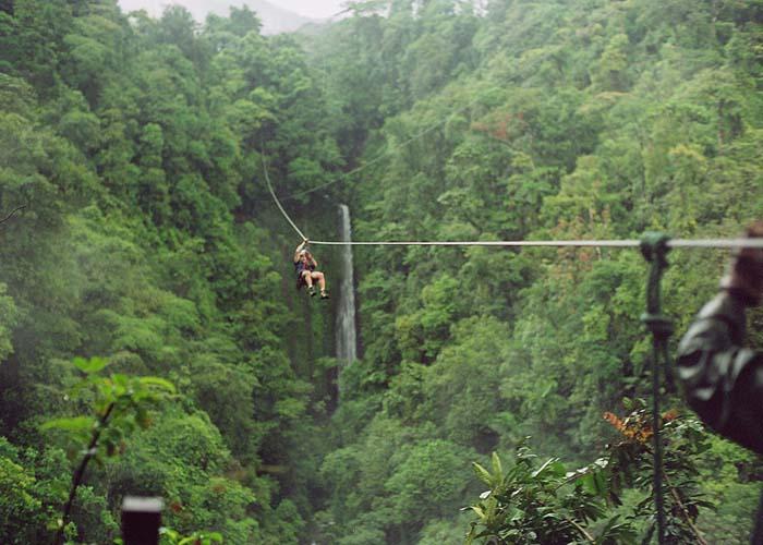 Best Zip line Costa Rica