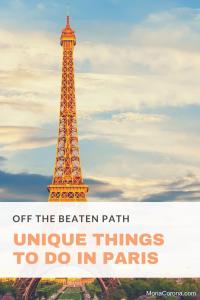 off the beaten path paris