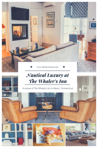 Looking for a cozy fall destination in the US? Click here to read all about New England's most charming hotel, The Whaler's Inn of Mystic, Connecticut. In this blog post you will also find the top things to do in Mystic, where to eat in Mystic, and the best places to see the beautiful fall foliage in Mystic, CT.   MonaCorona.com   #USA #travel #northamerica #Connecticut #mysitcct #fall #autumn