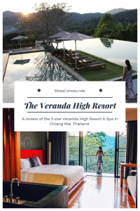 Wondering where to stay in Chiang Mai? Click here to read a full review of the Veranda High Resort in Chiang Mai, Thailand. Discover why the Veranda is the best hotel in Chiang Mai for 5-star luxury. Included in this article is also a unique day trip from Chiang Mai, to the province of Lampang, all with a local Thailand tour guide.   MonaCorona.com   #travel #hotels #thingstodo #wheretostay #thailand #chiangmai #southeastasia #hotel #luxury #resort #asia