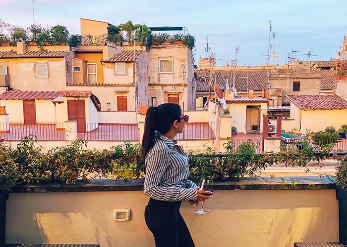 Rome terraces