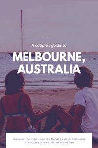 Looking for the top things to do in Melbourne for you and your sweetheart? Click here for a couple's Melbourne Travel Guide. Read all about Romantic things to do in Melbourne, As well as the best restaurants in Melbourne, and where to stay in Melbourne, Australia.  #monacorona #melbourne #australia #melbourneaustralia #travel #itinerary #guide #hotels #restaurants #thingstodoin #food #romantic #tips #couple