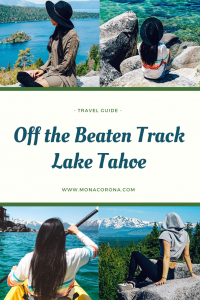 Looking for unique things to do in Lake Tahoe and the surrounding areas? Click to read this Lake Tahoe travel guide! This guide will show you what to see in Lake Tahoe as well as where to stay in Lake Tahoe, and where to eat in Lake Tahoe!   #monacorona #laketahoe #california #nevada #reno #carsonvalley #travel #itinerary #hotels #restaurants #thingstodoin