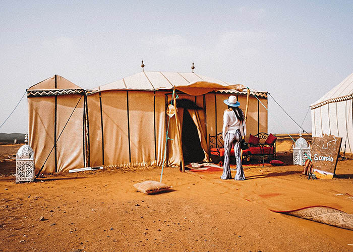 camping in morocco