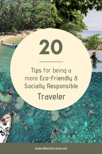20 responsible travel
