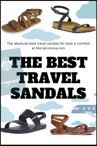The best travel sandals for women. In this article you'll find the top travel sandals that are both fashionable and comfortable. Teva, Birkenstock, & Chaco are the traveler-approved & will work for any type of travel. Learn all about the most comfortable, cutest, & best Tevas, Birkenstocks, & Chacos for your trip to Europe, Southeast Asia, tropical islands & beyond. These are the most comfortable & stylish sandals for travel so add them to your packing list! #travel #traveltips #tips #sandals
