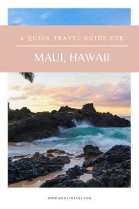 A quick and complete Maui Travel Guide / Maui Itinerary. Maui, Hawaii. Perfect for a luxury Maui trip, Maui honeymoon, or just a Maui vacation. Where to stay in Maui / Maui hotels, Ritz Carlton Kapalua review, top things to do in Maui, whale watching maui, where to eat in maui, Haleakala, road to Hana, best waterfalls in maui, Lahaina, kaanapali, beaches, hikes, resorts, Hawaiian islands, shaved ice, poke, napili, kapalua, black sand beach, red sand beach, waterfall #maui #hawaii #travel #usa