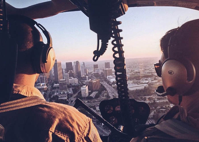 Los Angeles helicopter