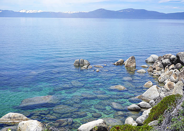 North lake Tahoe beaches secret cove