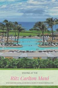 Where to stay in Maui? Here is a complete Maui travel guide and review of the Ritz Carlton Kapalua, Maui, Hawaii. Maui Itinerary. Perfect for a luxury Maui trip, Maui honeymoon, or just a Maui vacation. Where to stay in Maui / Maui hotels, Ritz Carlton Kapalua review, top things to do in Maui, whale watching maui, where to eat in maui, Haleakala, road to Hana, best waterfalls in maui, Lahaina, kaanapali, beaches, hikes, resorts, Hawaiian islands, waterfall #maui #hawaii #travel #usa