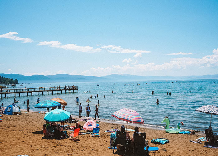 north lake tahoe beaches