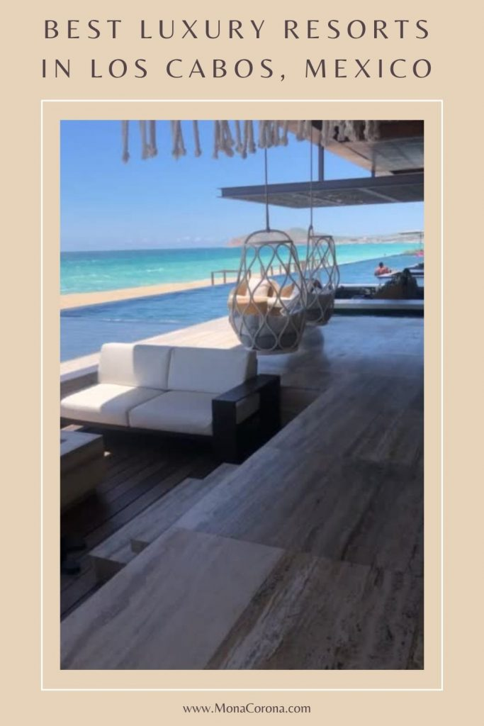 Where to stay in Cabo San Lucas, Mexico? This Los Cabos travel guide compares the best hotels in Cabo for LUXURY! Read my review of private pool villas at Nobu Hotel, Solaz Los Cabos Resort, and The Cape, a Thompson Hotel. Also: best restaurants in Cabo / where to eat in Cabo, where to see El Arco and the best beach clubs in Cabo. The best of Mexico resorts for your perfect Cabo Itinerary. Perfect for a honeymoon, bachelorette party, romantic getaway/couples trip or friends #cabo #mexico #travel