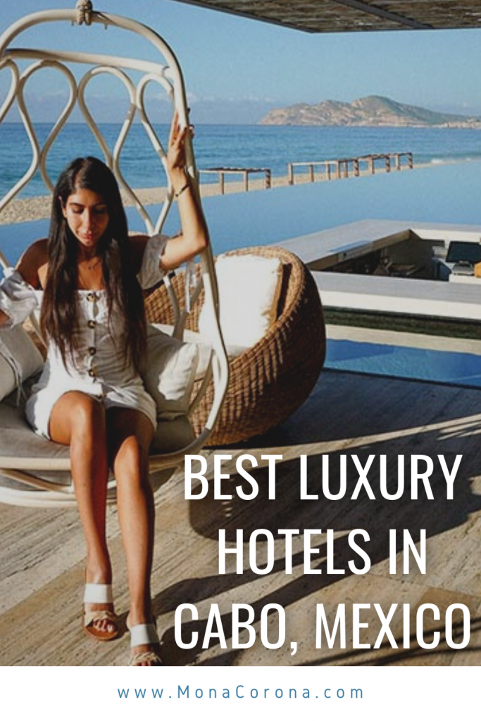 Where to stay in Cabo San Lucas, Mexico? This Los Cabos travel guide compares the best hotels in Cabo for LUXURY! Read my review of Nobu Hotel Los Cabos, Solaz Los Cabos, and The Cape, a Thompson Hotel. I also cover the best restaurants in Cabo / where to eat in Cabo, where to see El Arco and the best beach clubs in Cabo. The best of Mexico resorts for your Cabo Itinerary. Perfect for a honeymoon, bachelorette party, romantic getaway/couples trip or girls trip #cabo #mexico #travel