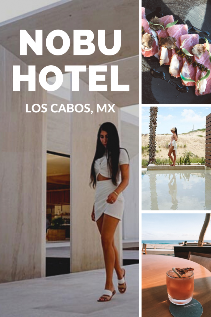 Review of the Nobu Hotel Los Cabos. Where to stay in Cabo San Lucas, Mexico? This Los Cabos travel guide compares the best luxury hotels in Cabo. Compare Nobu Hotel Los Cabos, Solaz Los Cabos, and The Cape, a Thompson Hotel. I also cover the best restaurants in Cabo / where to eat in Cabo, where to see El Arco and the best beach clubs in Cabo. The best of Mexico resorts for your Cabo Itinerary. Honeymoon, bachelorette party, romantic getaway/couples trip or girls trip #cabo #mexico #travel
