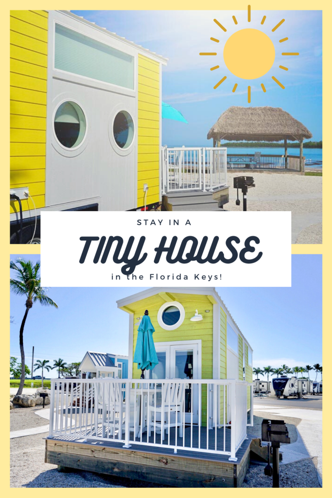 Go glamping in the Florida Keys with Petite Retreat's luxury tiny house villages. These tiny homes have everything you need inside for a safe and comfortable stay making it one of the best places to go in 2021! Just 30 miles from Key West, this campsite is close to all the best things to do in the Florida Keys. A must add to your USA bucket list and Florida itinerary! | Florida Keys Vacation | Florida Keys road trip | Florida Keys with Kids | Florida Keys honeymoon | #florida #floridakeys #USA
