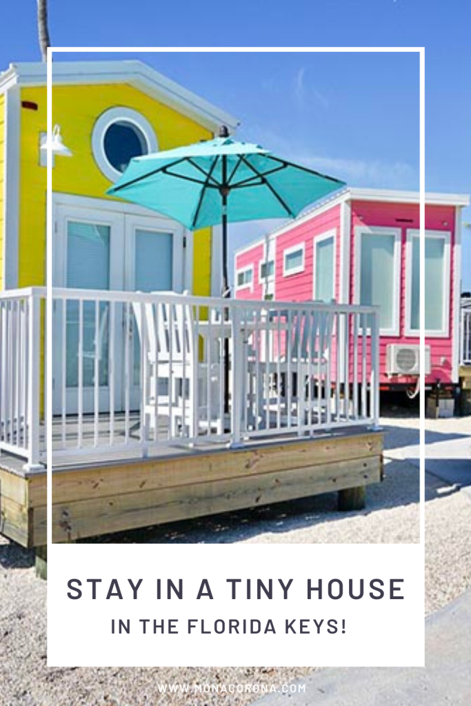 Go glamping in the Florida Keys in this Tiny House by Petite Retreats! Sunshine Key RV Park has all the amenities of a resort and the tiny houses have everything you need for a safe and relaxing Florida Vacation. Close to all the best things to do in the Florida Keys and a fun and unique experience that is not quite a hotel and not quite camping. Enjoy luxury beachfront glamping and tiny house living! Add this to your list of where to go in 2021 and your Florida Keys itinerary & Ideas!