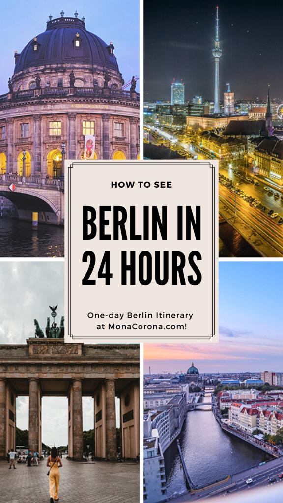 24 hours in Berlin | Berlin, Germany Europe | Berlin in one day | 1 day Berlin Itineray | Berlin travel guide | Berlin Travel tips | Berlin hotels | berlin restaurants | best things to do in Berlin | Where to go in Berlin | Where to stay in Berlin | Where to eat in Berlin | Berlin wall | Berlin meuseums |  Berlin travel guide | Berlin attractions | Berlin nightlife | Berlin nightclubs | Berlin photo spots | What to do in Berlin | one day Berlin itinerary #berlin #germany #traveltips
