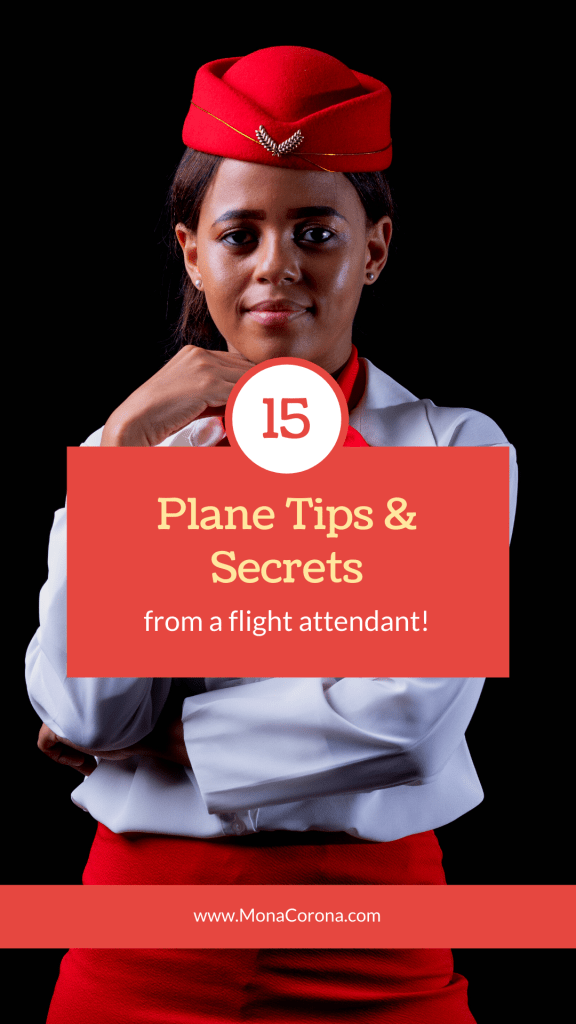 Flight attendant shares her best secrets & tips for flying! Whether you are flying for the first time or a seasoned traveler, you'll love hearing these flying tips to have an easy and comfortable time on your flight. Make sure you are prepared to fly on an airplane so you can have the best trip possible. These flight travel hacks will make you a travel pro! Learn what to do and don't do on an airplane and how to be the best air passanger possible. Make sure you know these 15 flying tips! #travel