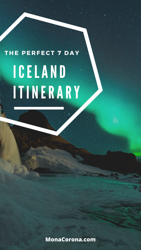 The perfect 7 day Iceland Itinerary | Iceland travel guide | blue lagoon iceland | northern lights iceland | iceland fjords | iceland hot springs | best things to do in iceland | iceland travel guide | iceland travel tips #iceland #europe