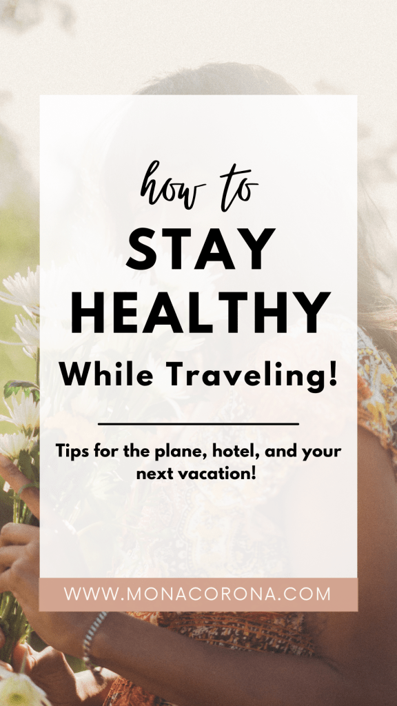 How to not get sick while traveling | How to stay healthy while traveling | Healthy travel tips | How to avoid getting sick while traveling | Don't get sick while traveling | travel sickness remedies | health travel | health tips | avoid getting a cold while traveling | how to not get sick during travel | plane tips | hotel tips | travel hacks how to prevent getting sick on a plane | what to do if you get sick while traveling | staying healthy while traveling | airplane necessities #traveltips