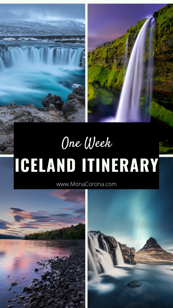 One week Iceland Itinerary | 7 day Iceland Itinerary | Iceland in 7 days | Blue Lagoon | Iceland travel guide | Iceland travel itinerary | Best things to do in Iceland | Iceland Attractions | Where to go in Iceland | Where to stay in Iceland | Best Hotels Iceland | Where to eat in Iceland | Iceland Restaurants | Ring Road | Iceland Road Trip | How to see the northern Lights in Iceland | Golden Circle | Iceland Fjords | iceland travel tips