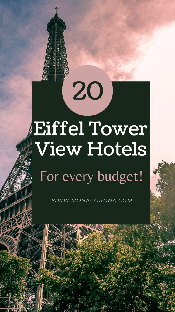 20 of the best Eiffel Tower view hotels for every budget!   Eiffel Tower view hotels   best hotels in Paris   Where to stay in Paris   Paris Hotels   Luxury Paris Hotels   Budget Paris Hotels   Paris itinerary   Paris travel   Paris travel guide   Paris, France   Eiffel Tower   Paris aesthetic   Places to go in Paris   Places to see in Paris   Paris hotel room   Paris hotels with Eiffel tower view   Paris hotel view   Paris hotel room luxury   plaza athenee paris   #paris #travel #france